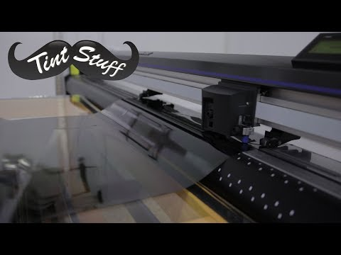 Tinting with a Plotter and Glass Boards