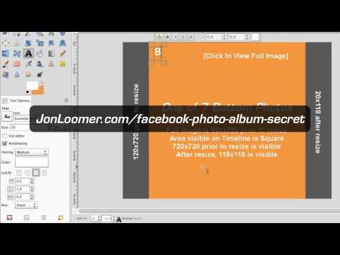 Facebook Photo Album Secret