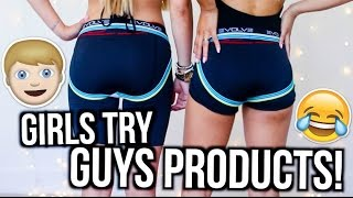 Download Girls Try Out Guys Products! | MyLifeAsEva Video