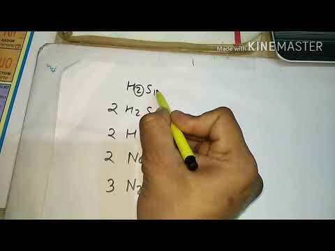 how to find numbers of atoms in a compound 9th ATOMS AND MOLECULES