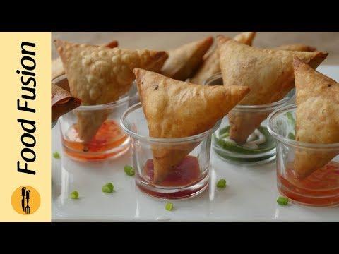 Pizza Samosa Recipe by Food Fusion (Ramzan Special)
