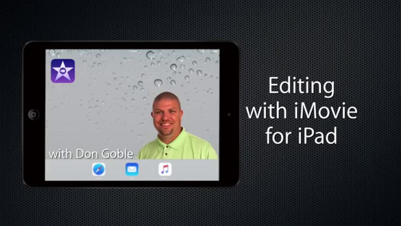 Editing with iMovie on iPad Tutorial #1: Creating a project
