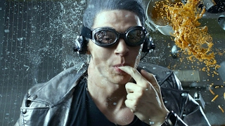 "QuickSilver Scene ""Kitchen"" - X-Men: Days Of Future Past (2014) Movie Clip HD"