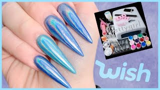 Testing a Gel Nail Kit from WISH