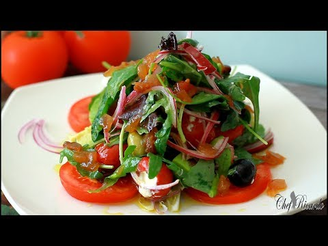 Amazing olive salad for summer /from Chef Ricardo cooking shows