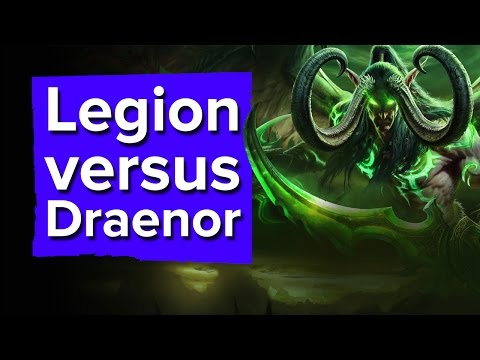 Legion vs. Warlords of Draenor - World of Warcraft interview (Blizzcon 2016)