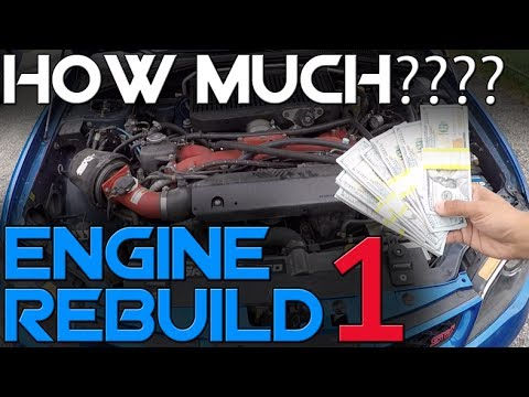 Cost to Rebuild an STi Engine // Ep. 1 // The Engine Build Series
