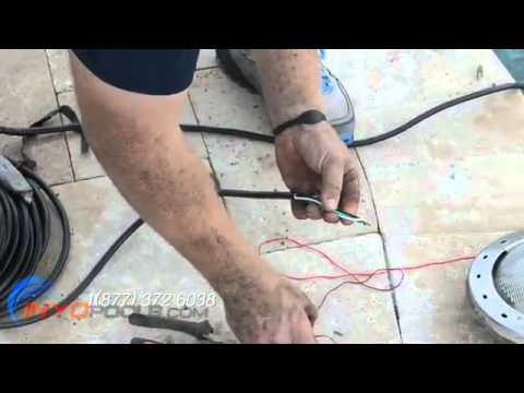 How To: Replace a Pool Light Fixture
