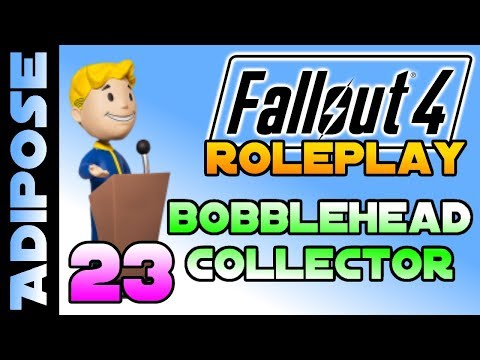 Let's Roleplay Fallout 4 - Bobblehead Collector #23 On Display