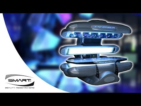 Tanning bed sunbed High and Low Pressure Vyper 36H Smart Solarium simple overview