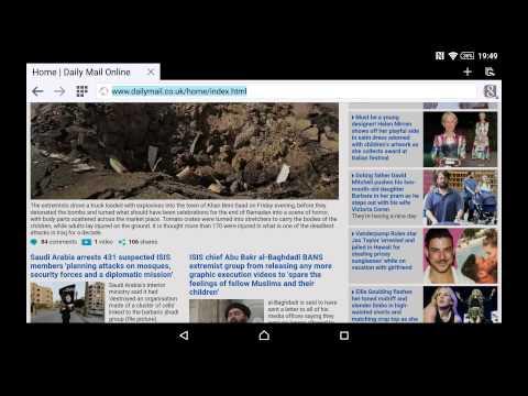 Change Phone Browser User Agent To View Desktop Websites