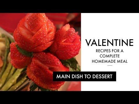 Valentines Day Recipes - Homemade Valentine Meal Idea | RadaCutlery.com