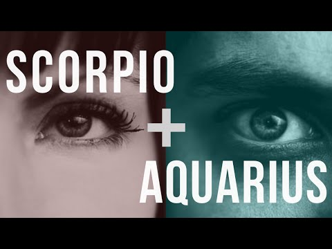Scorpio & Aquarius Sun: Love Compatibility