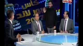#x202b;شاهد اقتحام ابراهيم سعيد لـ استوديو كريم حسن شحاتة على الهواء بعد فوز الزمالك ..شاهد ماذا فعل#x202c;lrm;