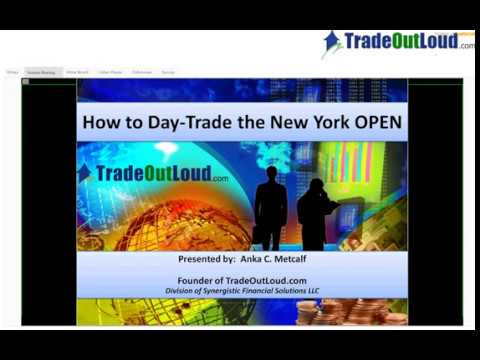 NET How to Day Trade the New York Open