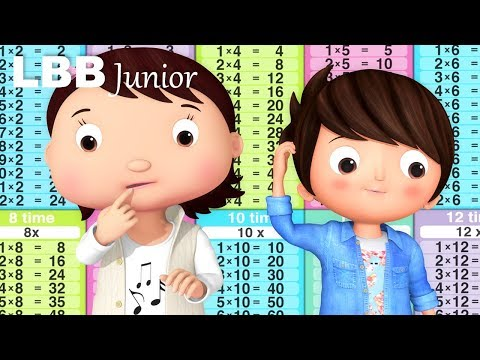 Times Tables Song | Original Songs | By LBB Junior