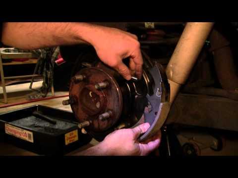 2002 Jeep Liberty Drum brakes