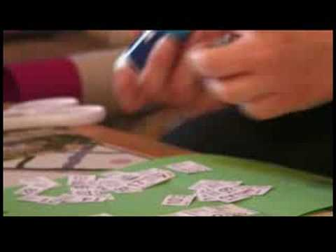 How to Make a Personalized Calendar : How to Make a Calendar: Making Cuts & Unfolding Paper