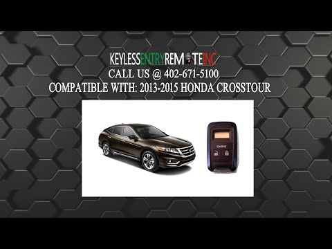 How To Replace A Honda Crosstour Key Fob Battery 2013 - 2015 Part # KOBATA12A