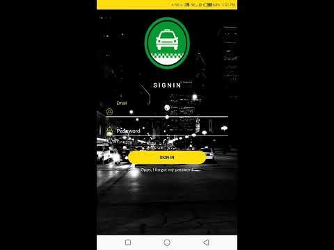 Naija Taxi Mobile App