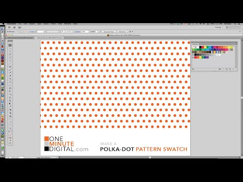 Make Polka Dot Patterns in Illustrator CS6