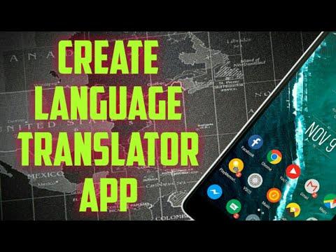 How to create language translator app in thunkable