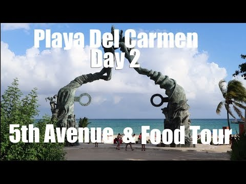 Playa Del Carmen 5Th Avenue and Mexican Food Tour!