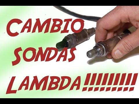 Cambio Sondas Lambda/ Replace O2 sensor