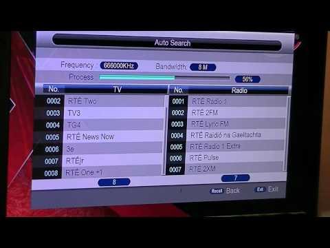 Xoro DTV-M5 Irish Digital TV Receiver - Tune in Irish Channels