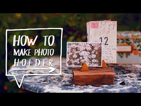 DIY DESK DECOR | How to Make a DIY Photo + Memo Holder ✨Alejandra's Styles s