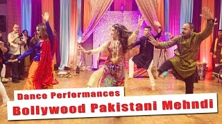 Best Bollywood Pakistani Mehndi Dance Performance (NINE) | Anisa & Omair