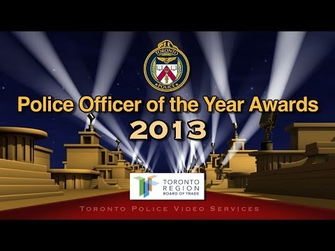 47th Annual 'Police Officer of the Year' Awards | @TorontoPolice Officers Recognized