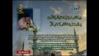 01: Ustaz Tirmizi Ali: Johan Qari Majlis Tilawah Al-Quran Peringkat Antarabangsa ke-56.