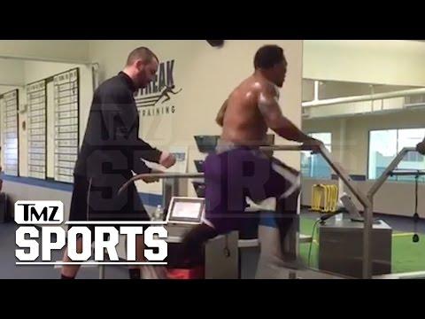 Ray Rice Hits 22 MPH on Treadmill... I Still Got NFL Speed!!   TMZ