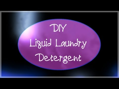 DIY Liquid Laundry Detergent - Cheap, Dye Free, Toxin Free...Great for Sensitive Skin!