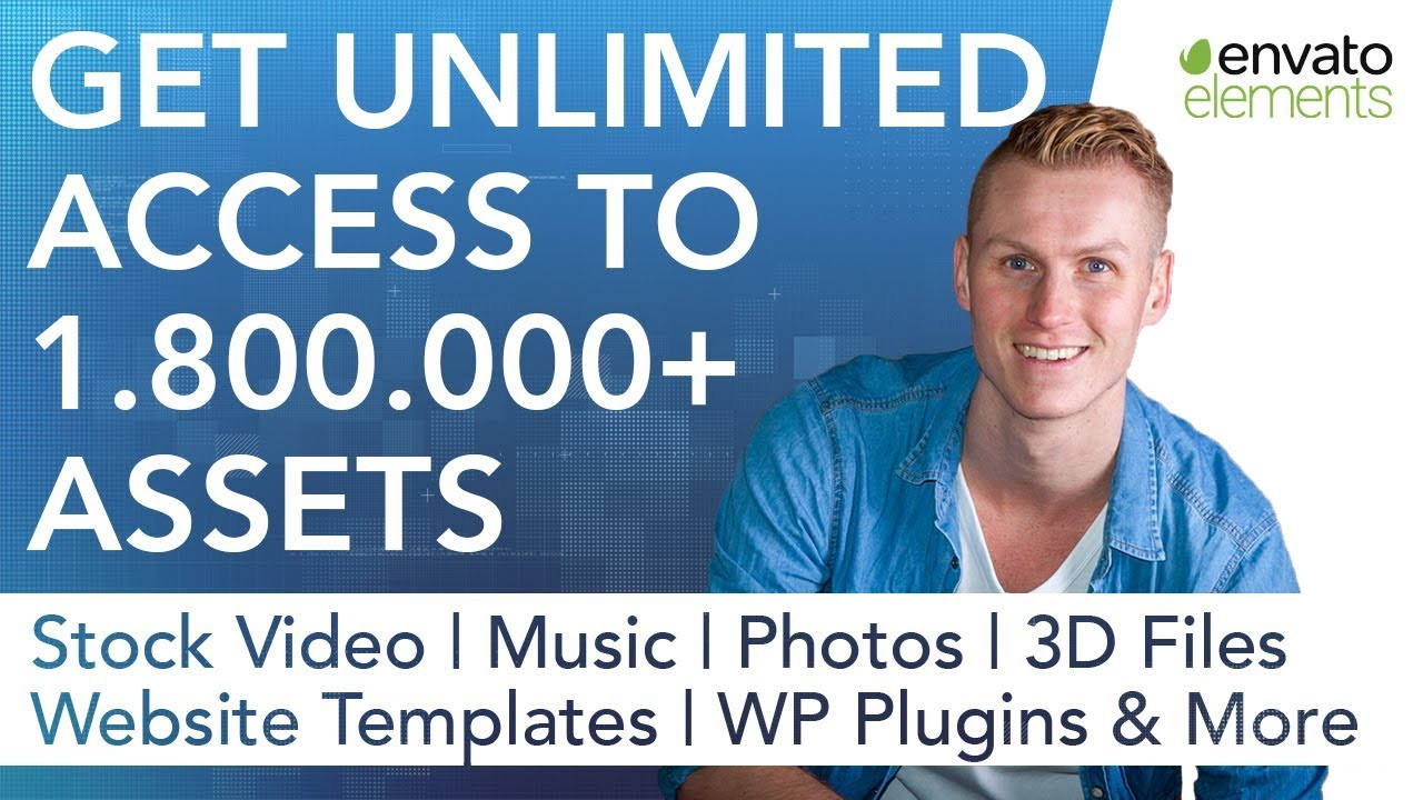 Envato Elements   Unlimited Use Of 1.800.000 Assets