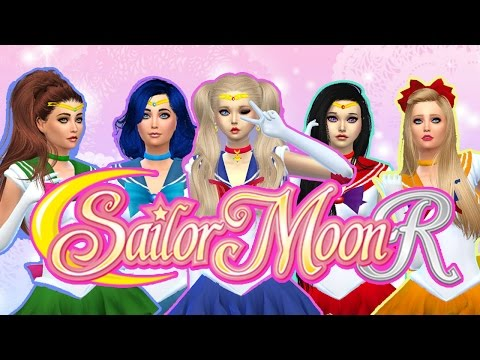 ☽ Let's Play the Sims 4: Sailor Moon Custom Content Showcase ☾