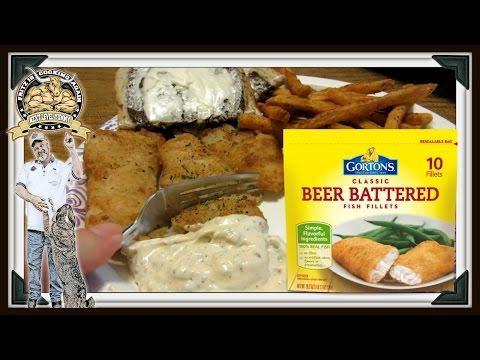 Air Fried Gortons Beer Batter Fish  like Mama made ya