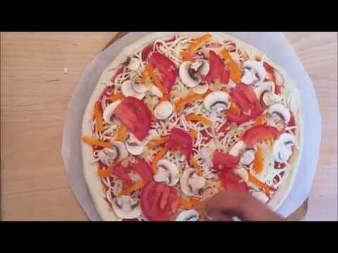 How to make a Veggie Pizza PIY