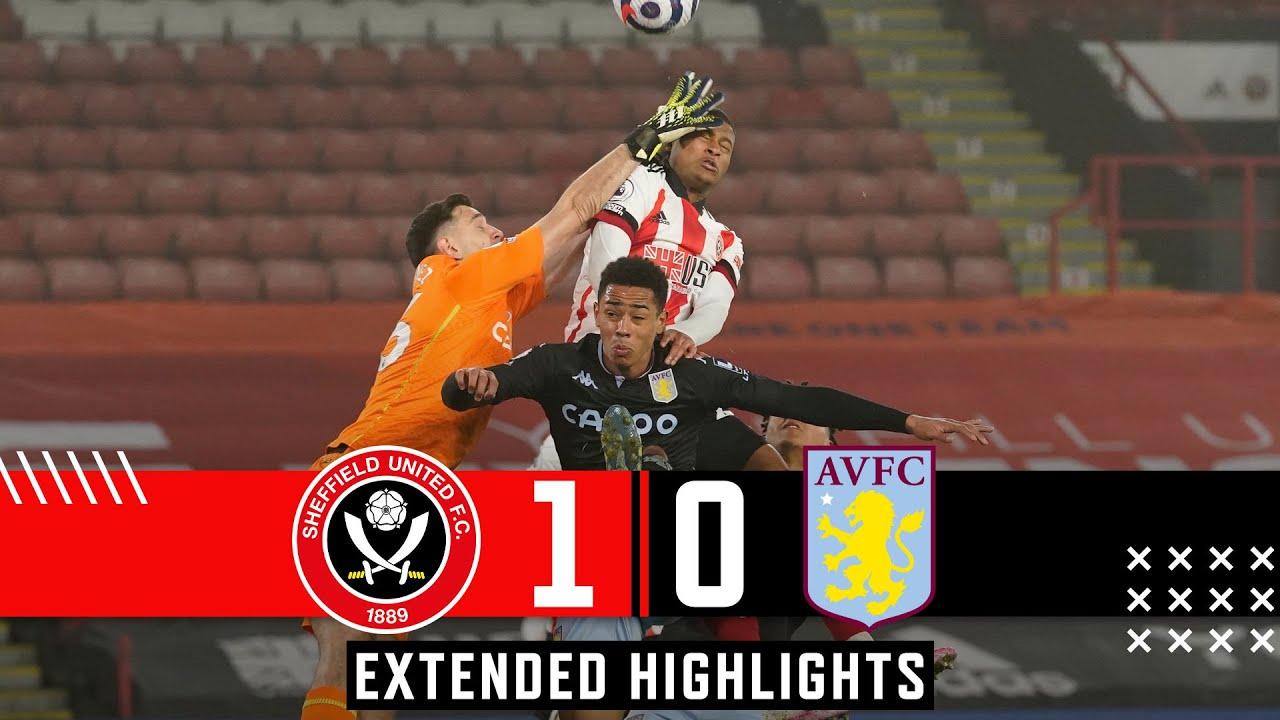 Sheffield United 1-0 Aston Villa | Extended Premier League highlights