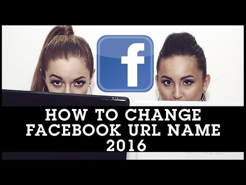 How To Change Facebook URL Name 2016