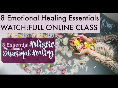 Emotional Intelligence AND Holistic Approach to Emotional Healing Webinar (overcome depression)