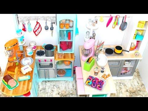 DIY American Girl Doll Gourmet Kitchen