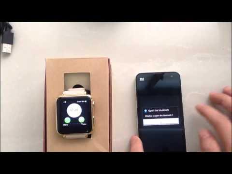 iRadish Y6 HD Display Unlock GSM Smart Watch Phone & Bluetooth Synced Android Smartphone