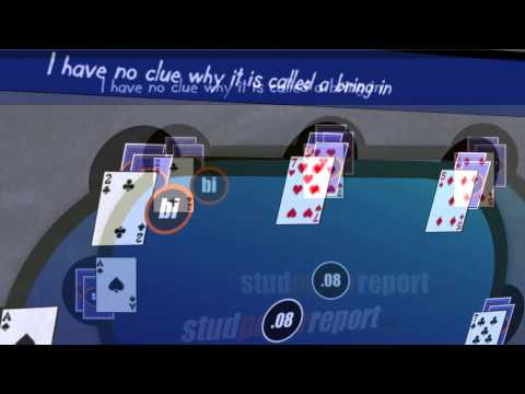 Stud Poker report - Video One