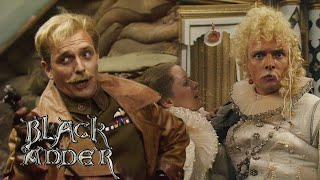 COMPILATION: Rik Mayall as Lord Flashheart | Blackadder | BBC Comedy Greats