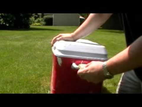 1000+ Stain Remover (Winning Colours), removing paint and permanent marker from cooler