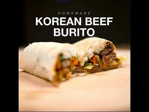 How to Cook - Korean Beed Burito