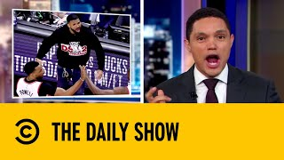 NBA Requests Drake To Stop Court-Side Antics | The Daily Show with Trevor Noah