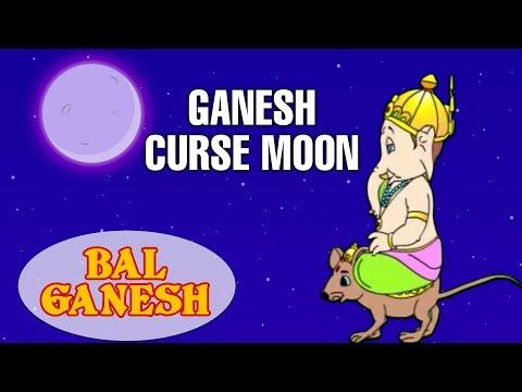 Bal Ganesh Ganesh Curse Moon Indian Mythology Stories In Hindi